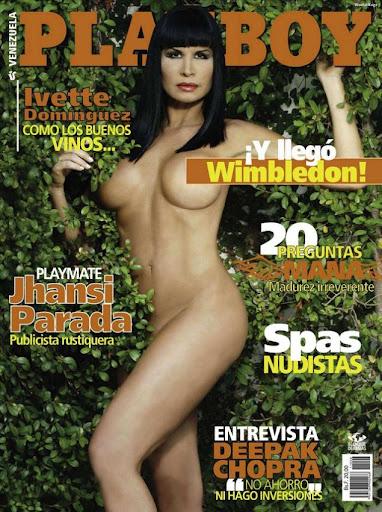 Ivette Dominguez Playboy Venezuela Junio