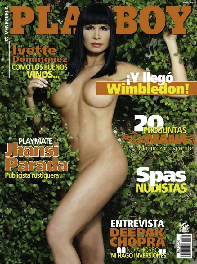 Ivette Dominguez Playboy Venezuela Junio 2011