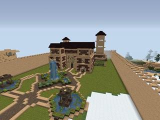Bien jouer minecraft comment construire des maisons et des ch teaux dans m - Minecraft exemple de maison ...