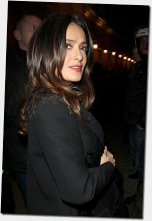 Salma Hayek Celebrities Arrive Giambattista CETKoiHB4E2l