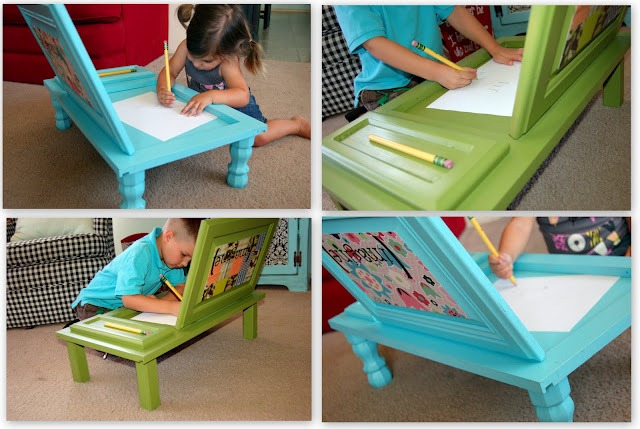 Turn a Cupboard into a Desk with iCandy Handmade