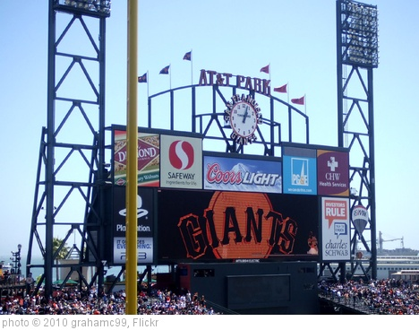 'AT&T Park' photo (c) 2010, grahamc99 - license: http://creativecommons.org/licenses/by/2.0/