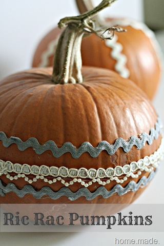 ric rac pumpkin