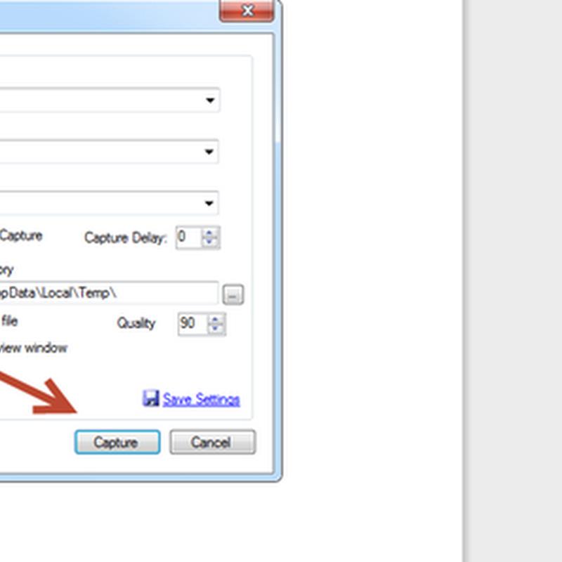 ปลั๊กอินจับภาพจาก Snagit วางใน Windows Live Writer