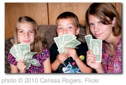 'how to teach kids money skills' photo (c) 2010, Carissa Rogers - license: http://creativecommons.org/licenses/by/2.0/