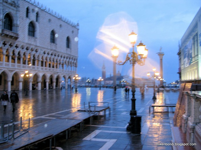 evening in the piazza