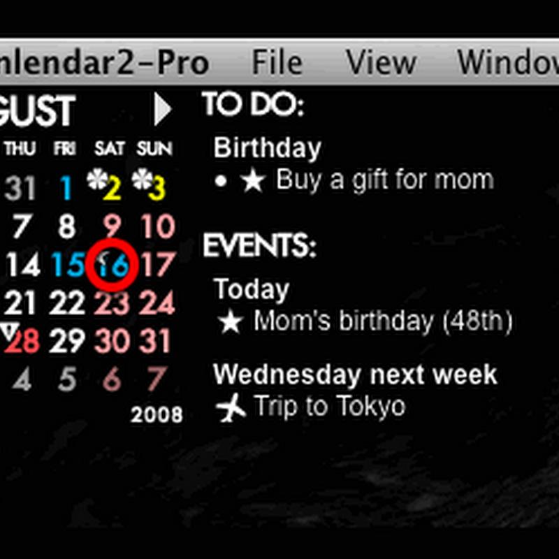 [行事曆] Rainlendar Lite Portable 2.12.2 繁體中文免安裝版