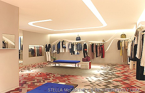 STELLA McCARTNEY ready-to-wear,  shoes,  bags,  sunglasses  lingerie SPRING SUMMER 2012 COLLECTION SINGAPORE FLAGSHIP BOUTIQUE HILTON SHOPPING GALLERY