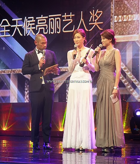 Starhub TVB Awards 2013 Linda Chung Everlasting Glow Award My Favourite TVB Female characters  awards Witness Security Everlasting Glow Award Red Carpet Star award via the new StarHub TV Buddy second screen app
