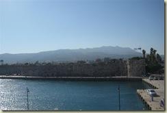 Kos City Wall from ship (Small)