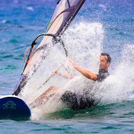 Splash by Igor Rosina - Sports & Fitness Surfing ( water, ugljan, surfing, wind surfing, surf )