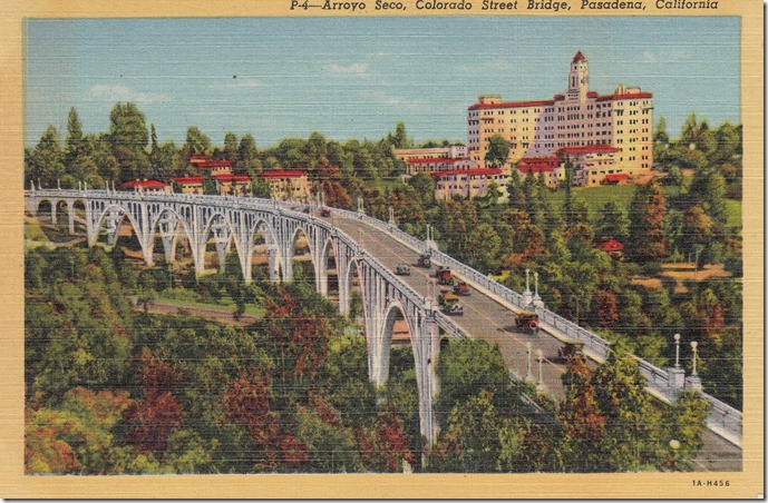 Arroyo Seco, Colorado Street Bridge, Pasadena, California Pg. 1