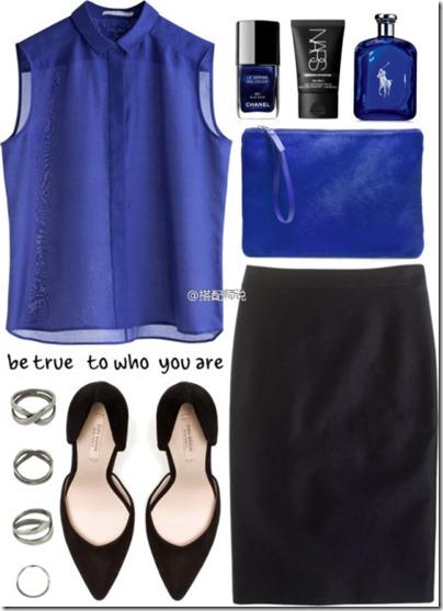 Royal Blue Mix N Match 03