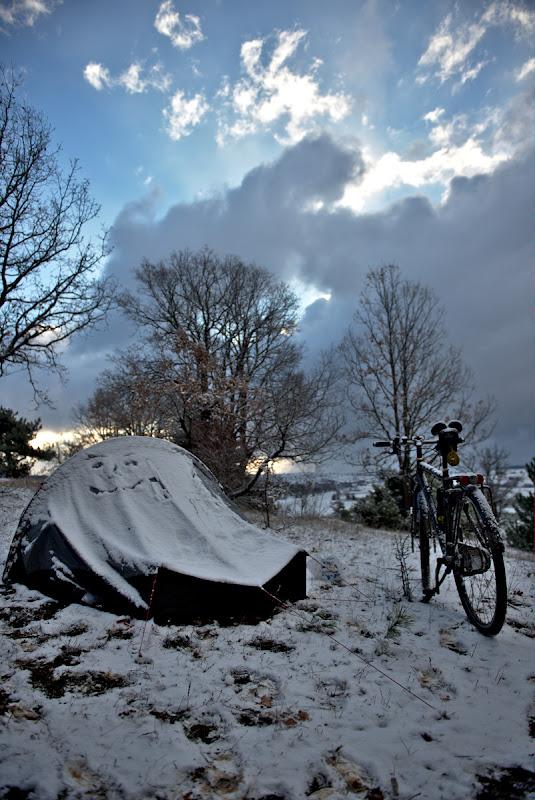 Prins din urma de ninsoare in Turcia.