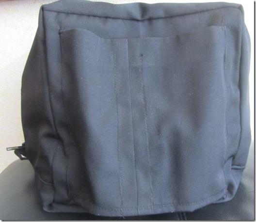 luggage cube straponback