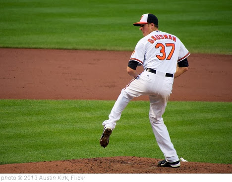 'Kevin Gausman Pitching Windup - Baltimore Orioles' photo (c) 2013, Austin Kirk - license: http://creativecommons.org/licenses/by/2.0/