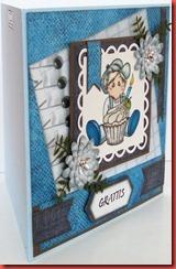 Blått spill-kort (2)