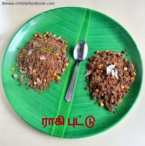 Ragi puttu recipe-Sweet n spicy versions