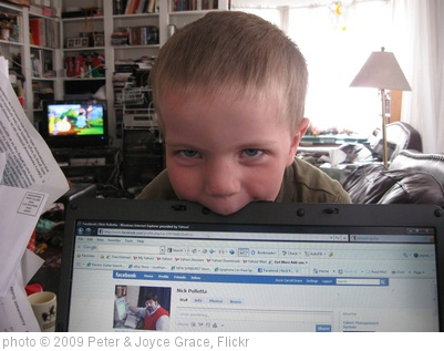 'Niall trying to eat Mom's computer' photo (c) 2009, Peter & Joyce Grace - license: http://creativecommons.org/licenses/by/2.0/