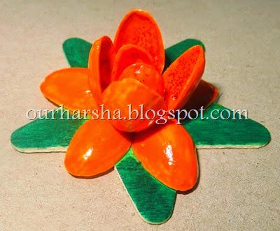 My Hobbies Diy Pistachio Pista Shells Flower