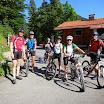 3-Seen-Mountainbiketour am 6.7.14 mit Helga Schweiger