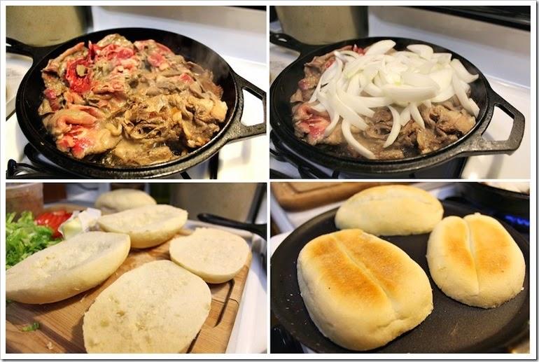 Steak Sandwich | step by step instructions