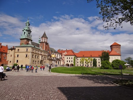 02. In curte la Wawel Cracovia.JPG