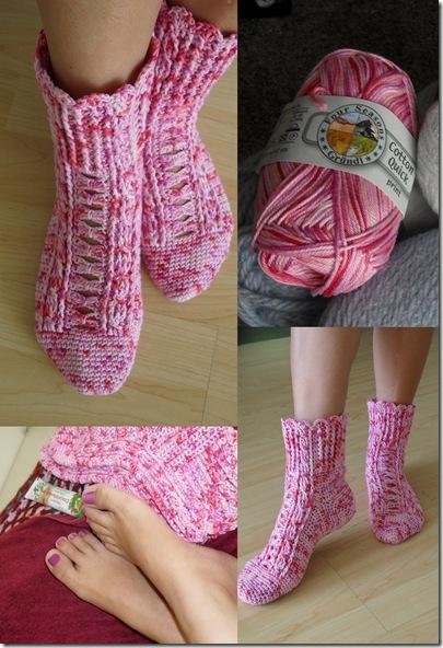 носочки розовые1