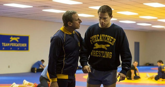 Two Foxcatcher Photos with Steve Carell, Channing Tatum and Mark Ruffalo 02