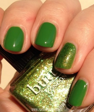 Sinful Exotic Green and butter LONDON Swinger 3