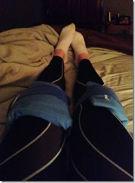 marathon recovery compression and ice