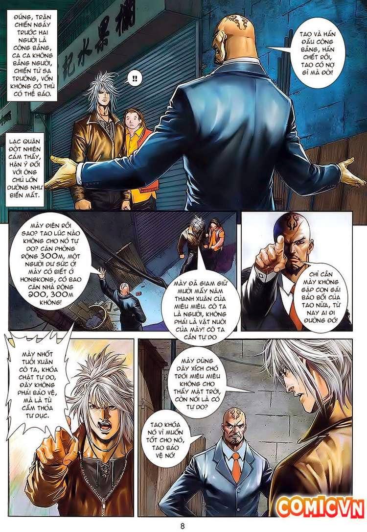Cửu Long Thành Trại chap 30 - Trang 8