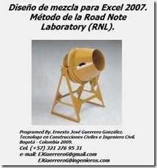Diseño de mezclas RNL