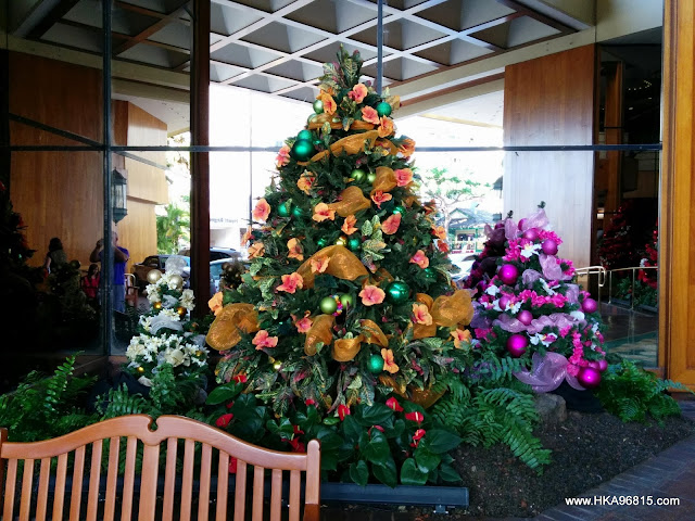 Hyatt Regency Waikiki Christmas Tree 2013