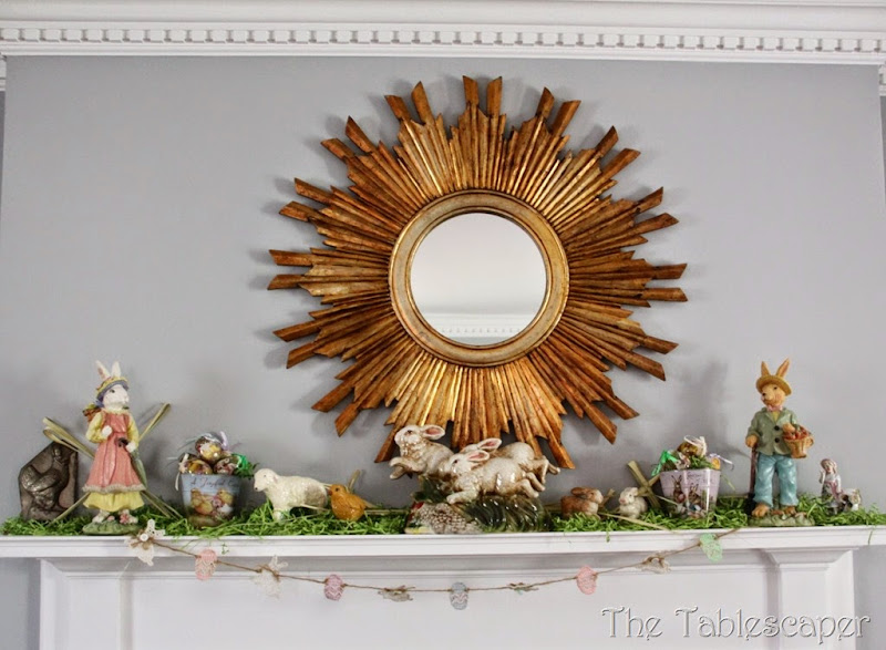 Easter Mantel - The Tablescaper02
