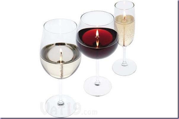 Vinho-Champagne-Taças-Velas