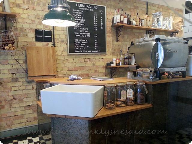 Hermitage Road coffee bar Hitchin