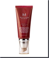 missha perfect cover BB cream review