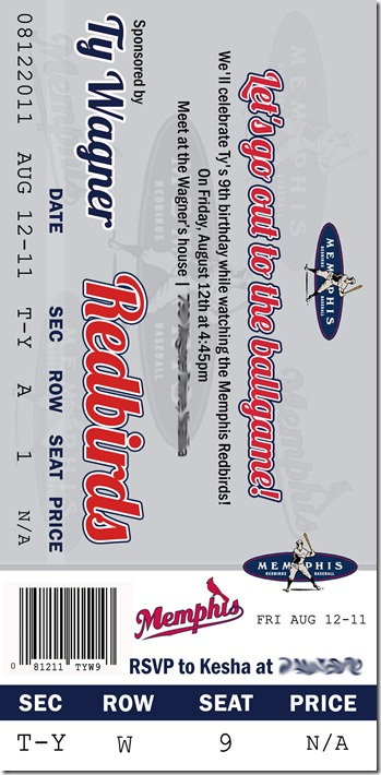 redbirds ticket