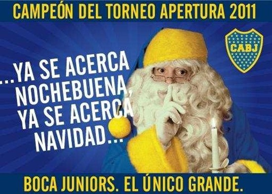 afiche boca campeon 2011 1
