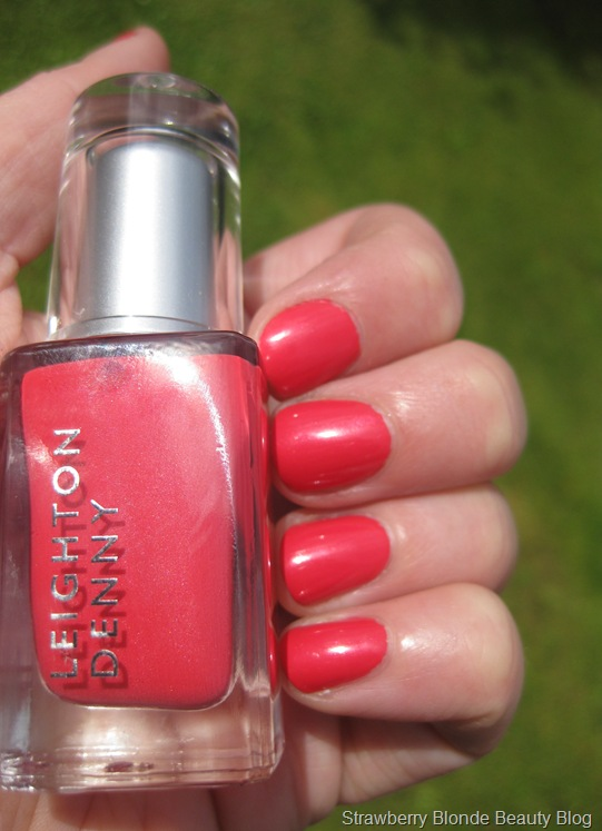 Leighton Denny Coral Reef swatch