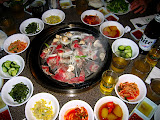 Korean BBQ in Korea Town - Los Angeles