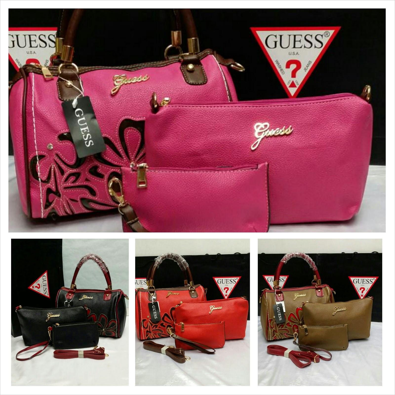 Handbags   Closets  Beg Tangan Guess 3 in 1 yg TERKINI 1f8aab8c971