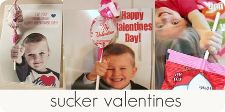 sucker valentines