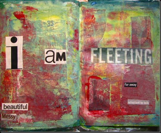 fleeting art journal 001