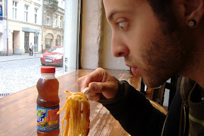Rubin is lovin&#039; the spaghetti.  I liked it so much, I ordered some more.