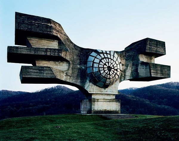 abandoned yugoslavian monuments by jan kempenaers 1