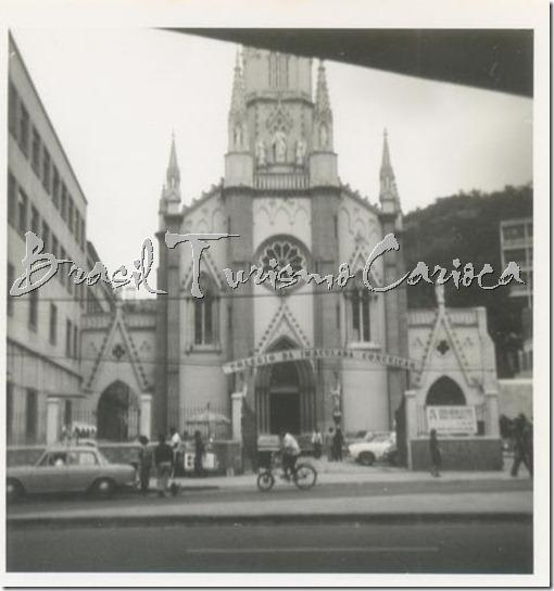 Igreja da Imaculada Conceição -anos 70 - Botafogo