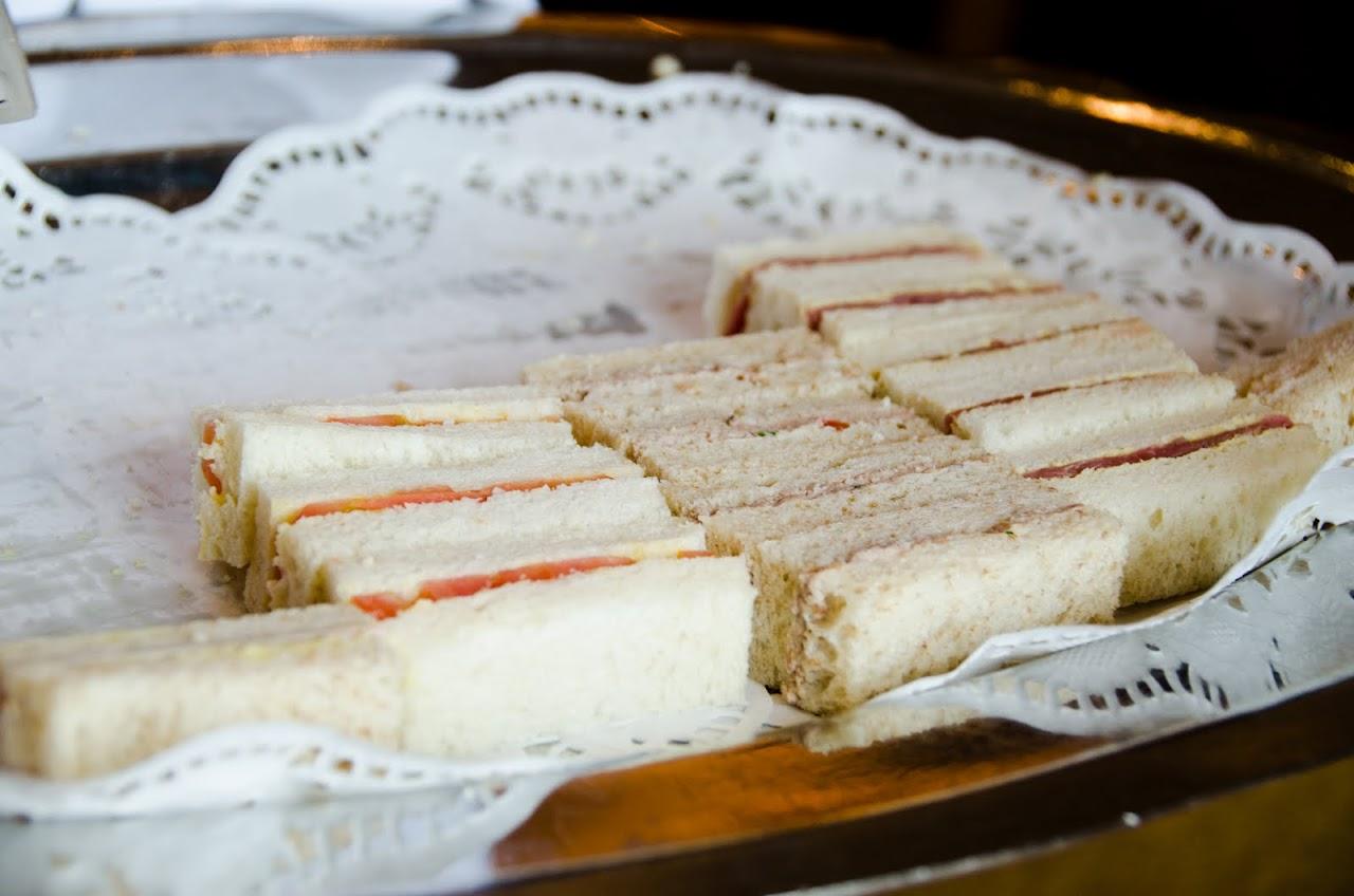 Sandwiches at QM2