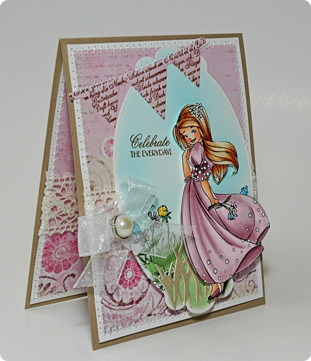 Card # 2 Celebrate the Everday side view